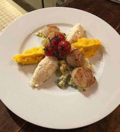 cuisiner les st jacques fraiches restaurant le bistrot canaille dans langueux avec cuisine française restoranking fr