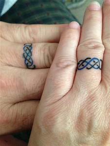wedding band tattoos hair nails tattoos pinterest With tattoo ring wedding