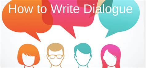 Writing Dialogue Using The Past And Present Tenses