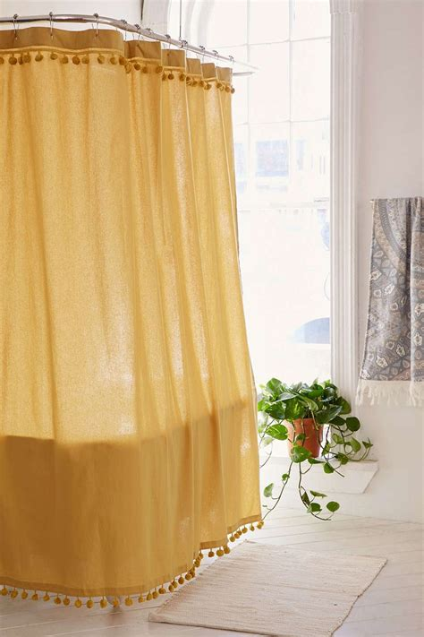 gold shower curtain ideas  pinterest gold