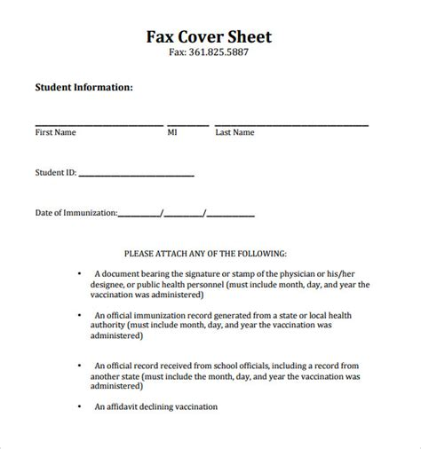 16617 fax cover sheet fax cover letter template printable image collections