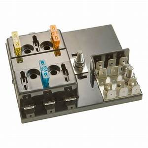 Install Bay U00ae Blc-106-g - 6-position Atc Fuse Panel With Grounding Pad