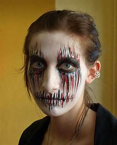 40, Scary, Halloween, Face, Painting, Ideas, To, Frighten, Everyone