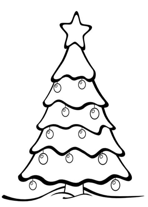 albero  natale da colorare  bambini disegni da