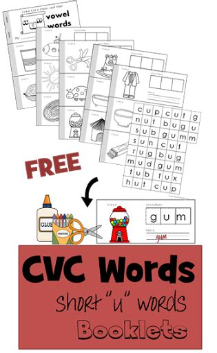 cvc words short  vowel  images cvc words cvc