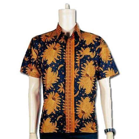 kemeja batik motif batu kemeja kerja motif batik pusaka dunia