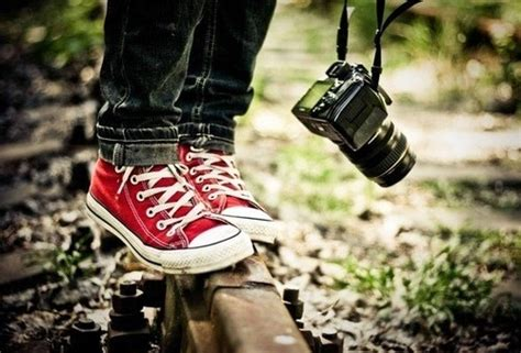 All Star, Camera, Feet, Photographer, Photography, Red
