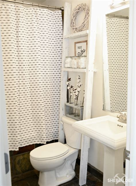 toilet storage ladder build plans tinsel wheat
