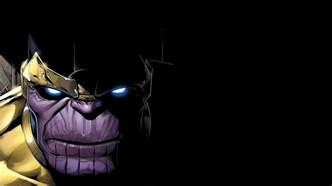 Thanos Marvel Comics Villains Artwork Hd Wallpapers