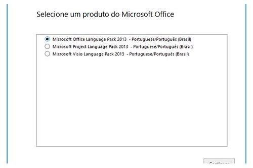 baixar idioma interface pack office 2013 pt-br