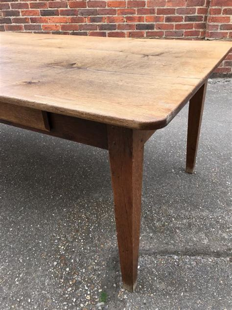 8 ft farmhouse table 8ft wide antique oak farmhouse table antique oak