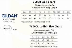 Gildan Youth Size Chart Gildan Premium Cotton T Shirts 76000 Meowprint