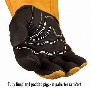 Harris Torch Tip Size Chart Black Stallion Premium Pigskin Cowhide Mig Welding