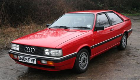 1980s Audi Coupe Quattro Car