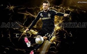 David Beckham La Galaxy Hd Wallpaper