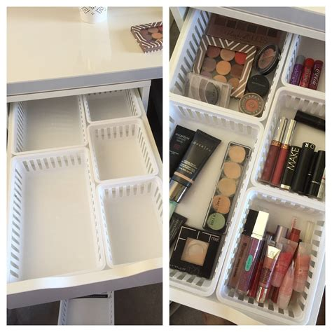 Walmart Makeup Storage Ideas For Ikea Alex Drawers  Home