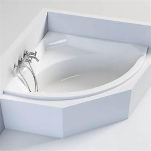 Baignoire D Angle 130x130 : baignoire d 39 angle corner 140 x 140 cm veronella ~ Edinachiropracticcenter.com Idées de Décoration