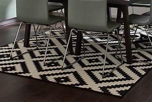 Tapis Salon Blanc : tapis pas cher tapis de salon design ikea ~ Teatrodelosmanantiales.com Idées de Décoration