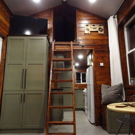contained tiny cabin house man cave cabin  sale