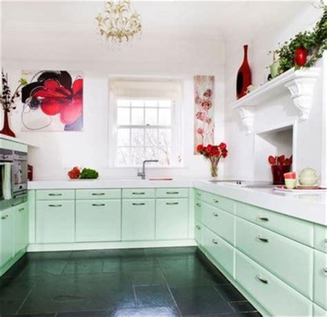 mint green and kitchen мятный цвет в интерьере домфронт 9175