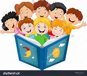 Kids Reading Books Clip Art – 101 Clip Art