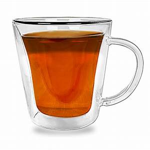 Tee Im Glas : 4 doppelwandige teegl ser teeglas tasse teekanne tee glas gl ser teetasse ~ Markanthonyermac.com Haus und Dekorationen