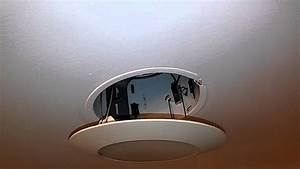 Replacing a light bulb with recessed lighting