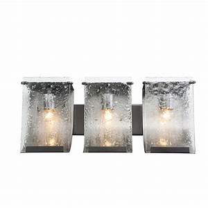 Varaluz rain recycled 3 light bath vanity light reviews for Bathroom lightimg