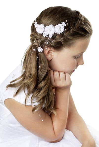 kommunion frisuren fuer lange haare