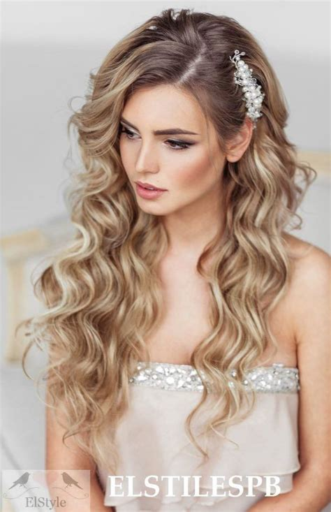 hair style with open hair 25 best ideas about prom hairstyles on hair