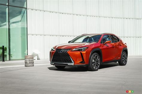 lexus ux officially presented  canada car news