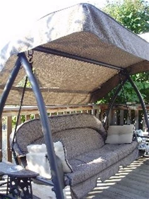 patio swings with canopy canada costco canada itm 209282 canopy
