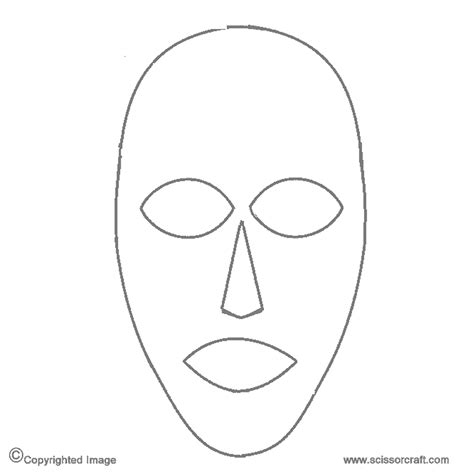 full face mask template png  full face mask template