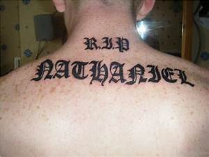 Name Designs On Lower Back Word Tattoos Designs Pictures