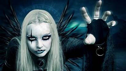 Witch Goth Wallpapers Evil Gothic Fantasy Background