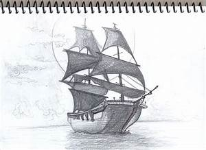 The gallery for --> Simple Pirate Ship Sketch