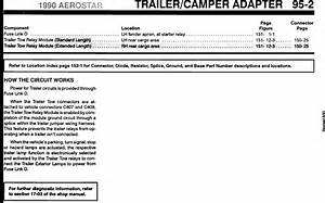 Need A Wiring Diagram For The Trailer Hitch For Same Car