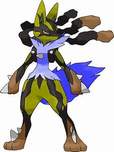 Mega Lucario (Shiny Theory) by HGSS94 on DeviantArt