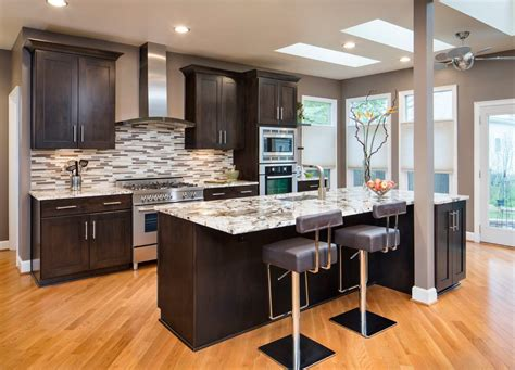 kitchen islands with posts galley kitchen designs kitchen transitional with 5278