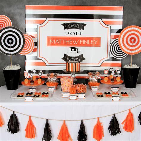 graduation table centerpieces ideas themes inspiration