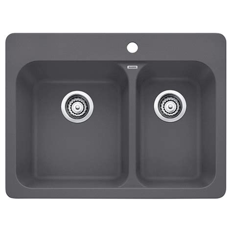 kitchen sinks rona quot silgranit vision 1 5 quot kitchen sink cinder rona 3049