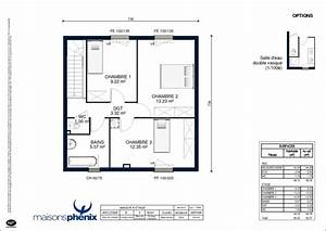 plan maison plain pied 100m2 gallery of plan maison plain With ordinary plan de maison 100m2 13 habitats modulaires