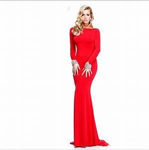 robes etonnantes blog robe de soiree manche longue rouge With robe rouge manche longue