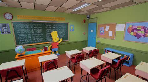 Simpsons Classroom - Rodrigo Scapolan