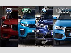 2018 Volvo XC40 Vs BMW X1 Vs Range Rover Evoque Vs Audi Q3