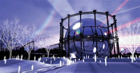 kings cross gasholder competition london  architect