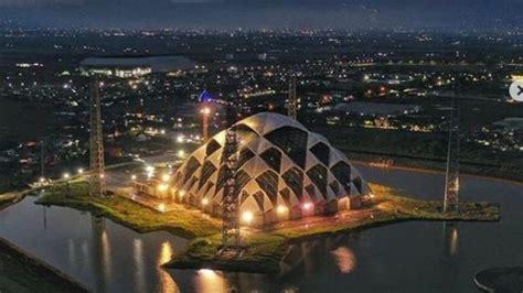 masjid terapung gedebage bakal jadi ikon terbaru kota
