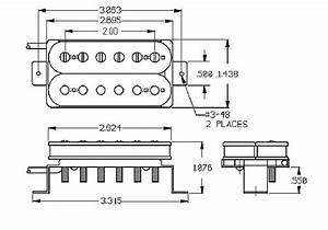 Seymour Duncan Sh-6 Distortion Neck Humbucker