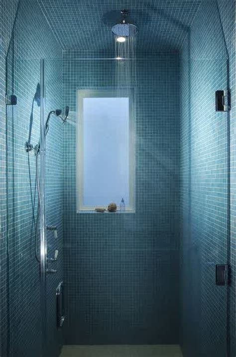 shades  blue  tranquil bathroom homesfeed