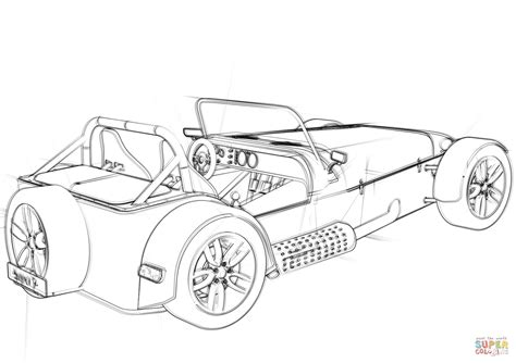 Convertible Coupé Concept Car coloring page Free